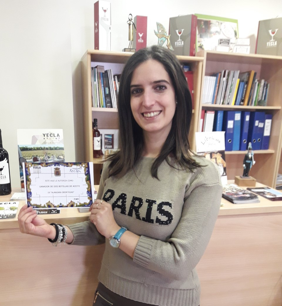 Photograph of Ines, winner of the December challenge