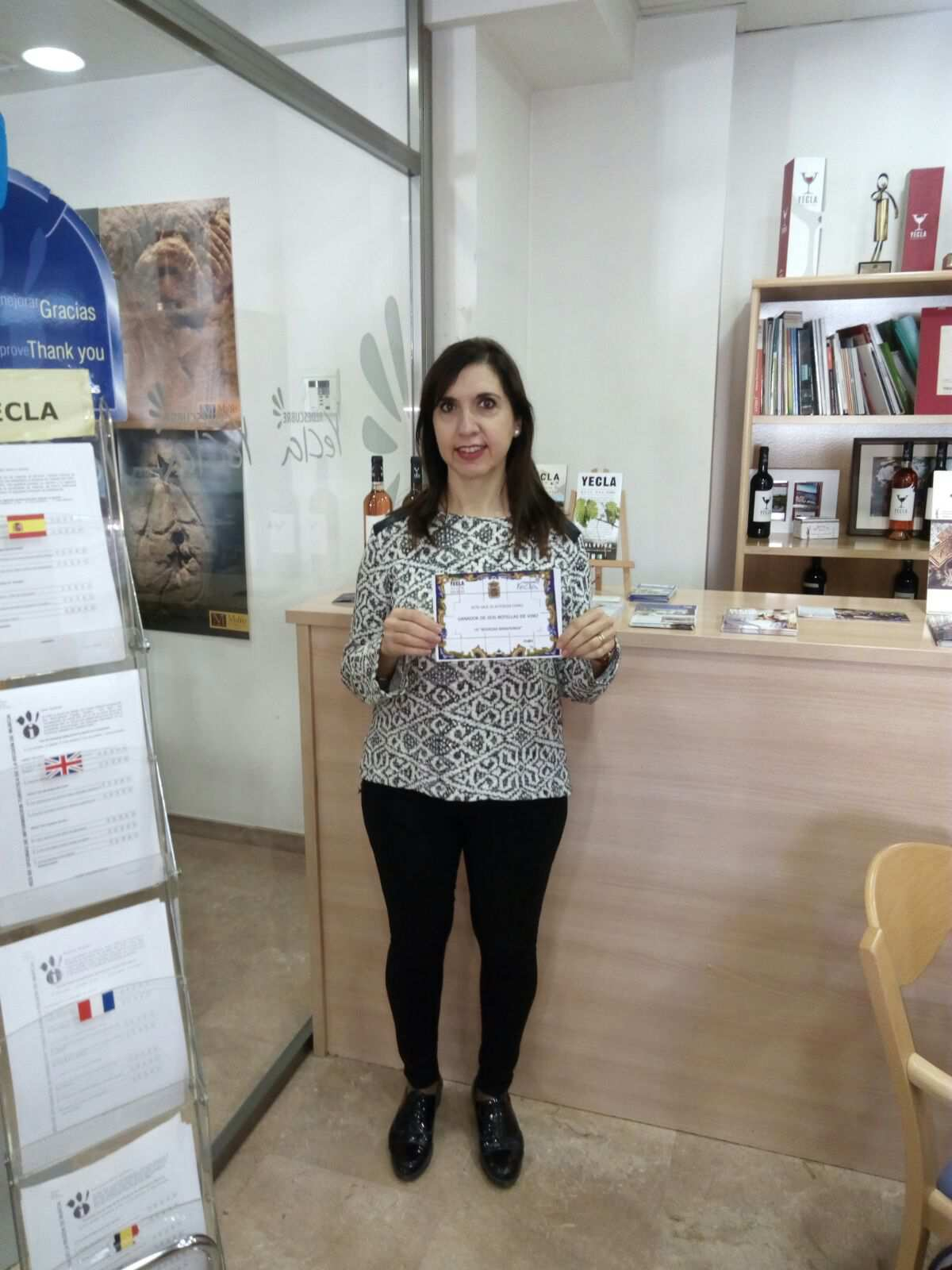 Antonia, winner of the challenge The Will of the month of October