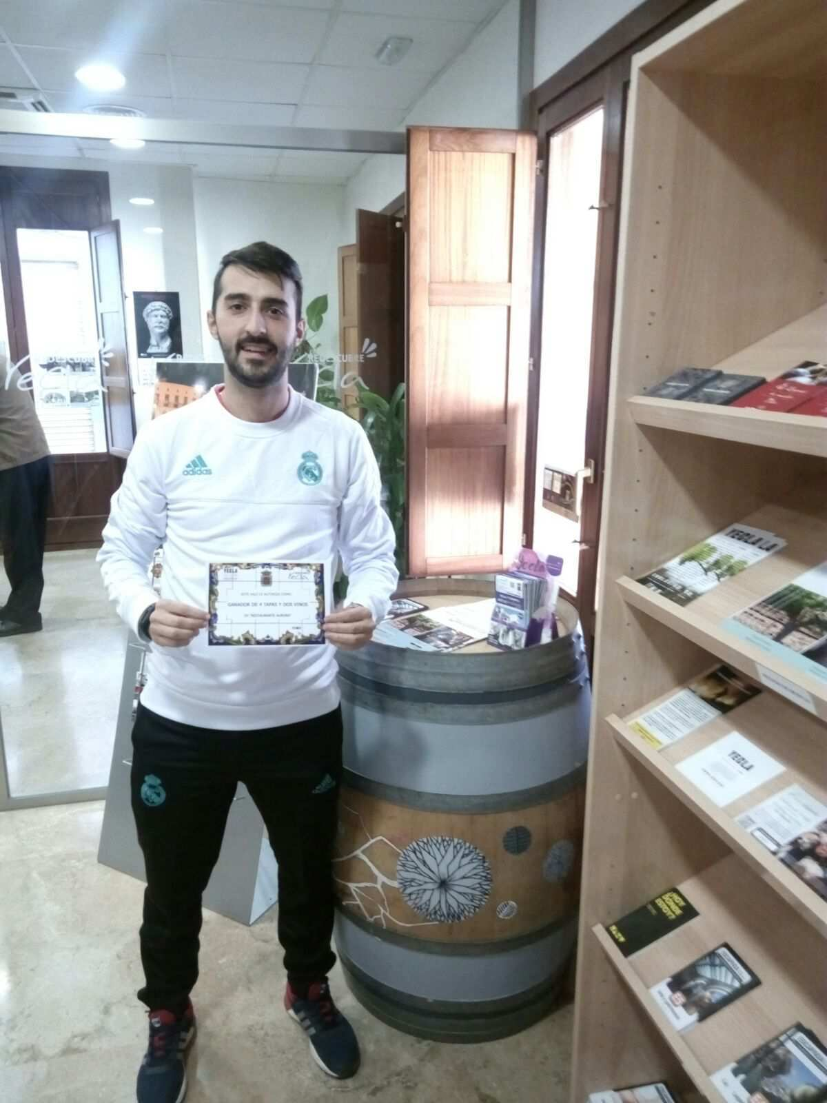 Salvador, winner of the challenge The Will of the month of October
