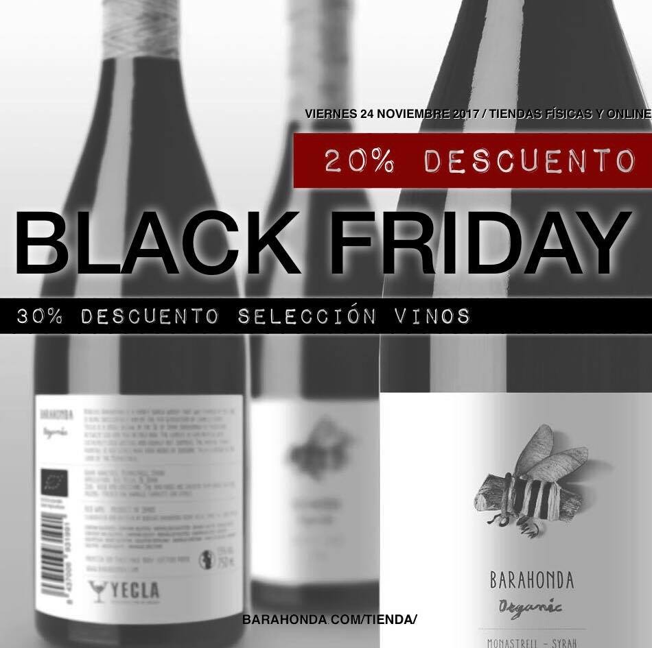 Black Friday Bodegas Barahonda