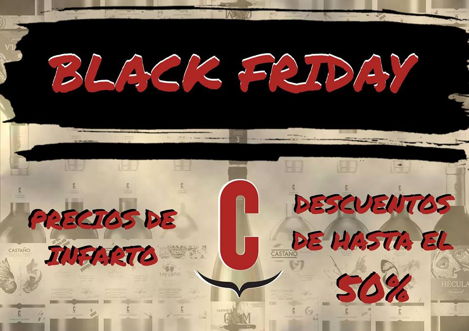 Black Friday Bodegas Castaño