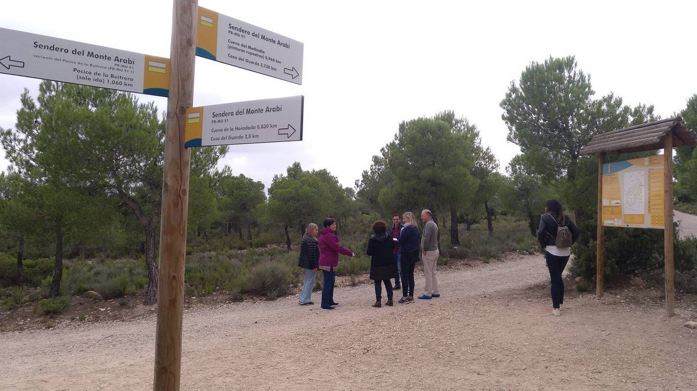 A group of Scandinavian journalists and tour operators have toured our Murcia route