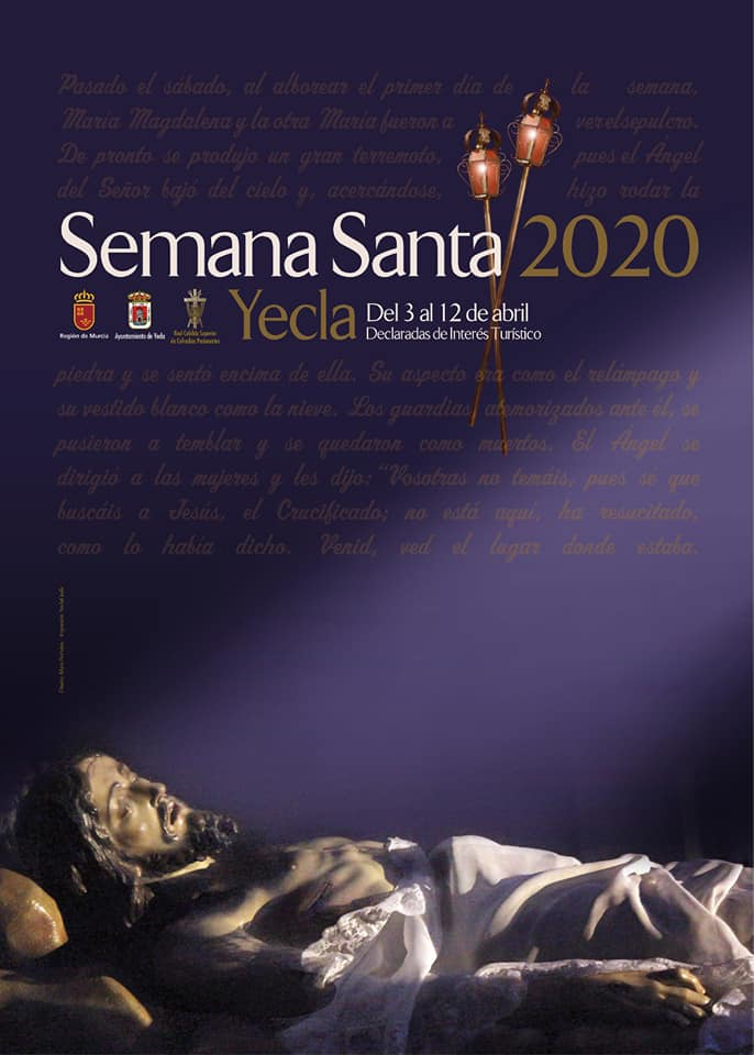 Holy Week 2020. Yecla, Murcia