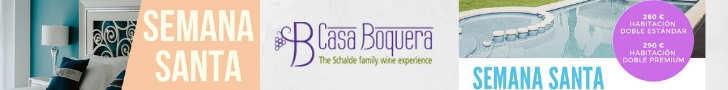 Casa Boquera promoción Semana Santa