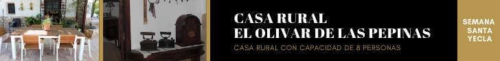 Casa rural el Olivar de las Pepinas. Semana Santa 2019