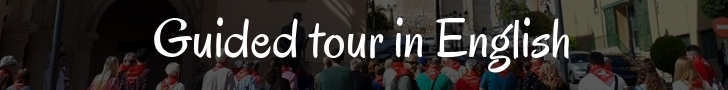 Guided tour in English
