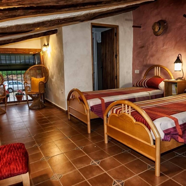 El Llano de Quintanilla Rural House. Bedrooms