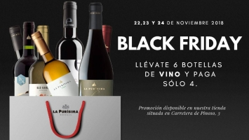 Bodegas la Purísima. Black Friday